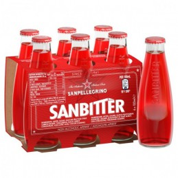 SANBITTER ROSSO 10CL X 6